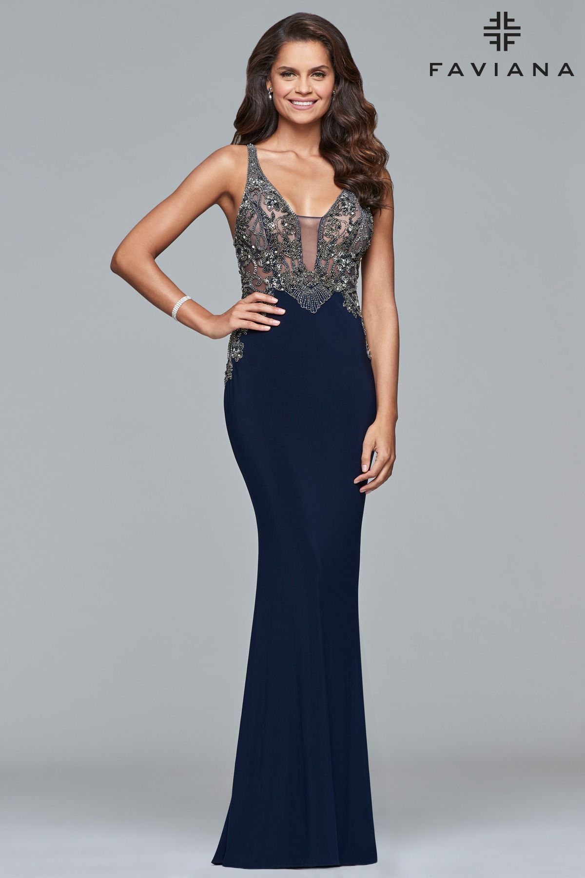 S all faviana dresses pinterest homecoming bodice and prom