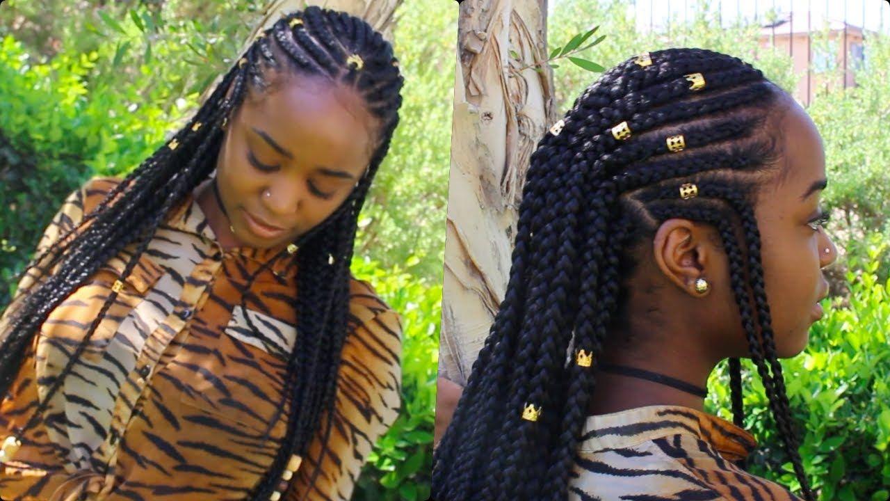 Braids Amp Beads Alicia Keys Inspired Hairstyle