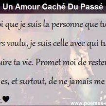 Un Amour Caché Du Passé Citations D Amour Phrase Amour