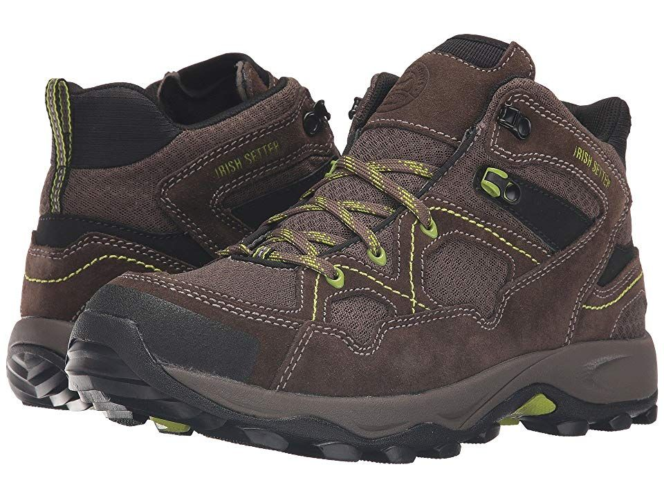 Irish Setter Afton Hiker ST BrownGreyGreen Mens Work Boots The Irish Setter Afton Hiker ST will keep you protected and comfortable during any work where you need a lightw...