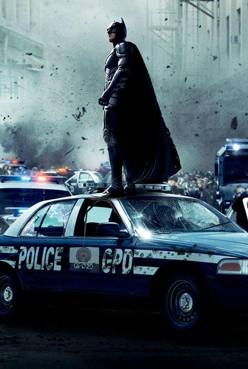 Christian Bale as Batman in Christopher Nolan's 'The Dark Knight' trilogy