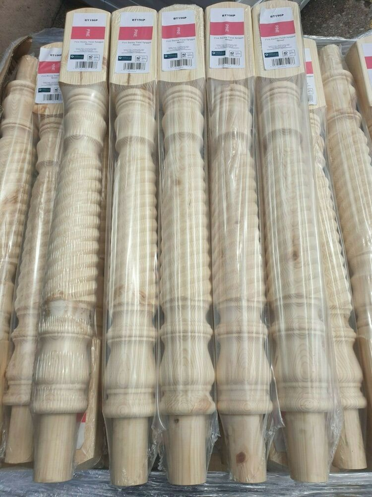 Best Pine Barley Twist Newel Post Stair Refurbishment Post 400 x 300