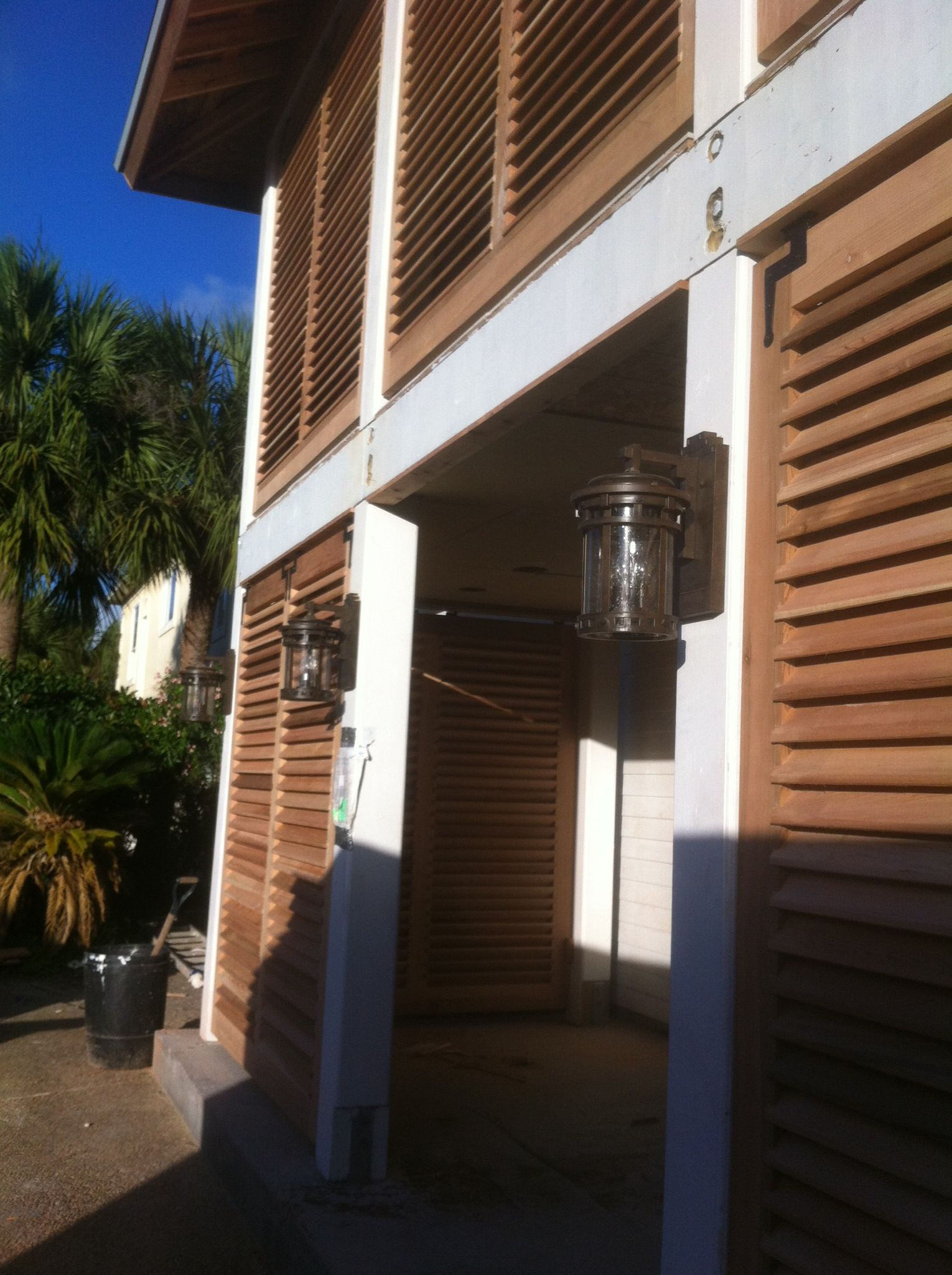 Window decorative shutters  beautiful texas coastal home completed with these bermuda shutters