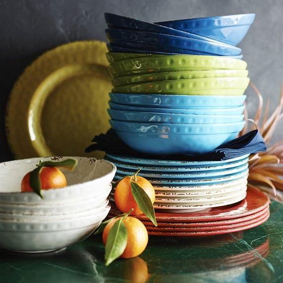 Rustic Melamine Salad Plates | Melamine dinnerware, Dinnerware and ...