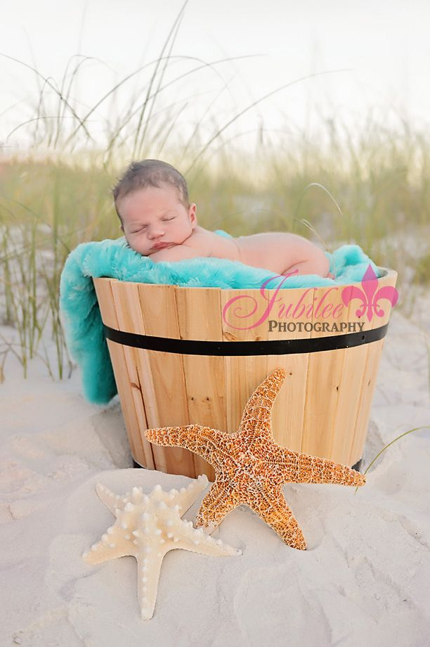 Newborn Beach Photo Ideas