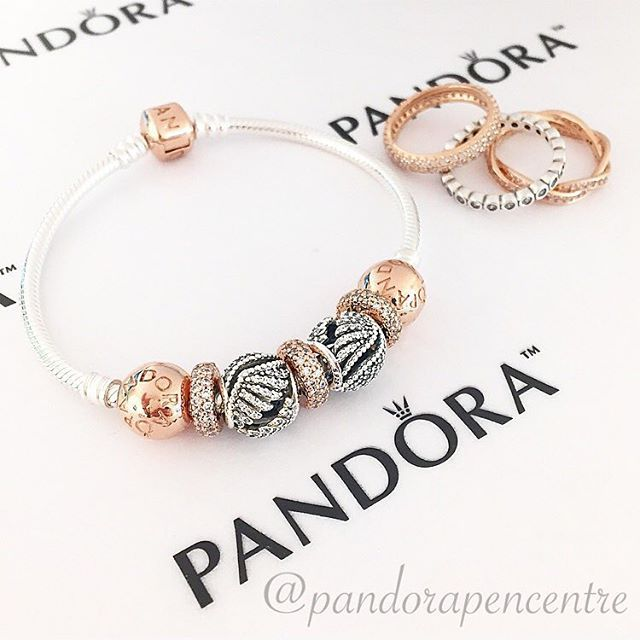 Our beautiful Pandora Rose collection makes it easy to master mixing metals! 37689d00512