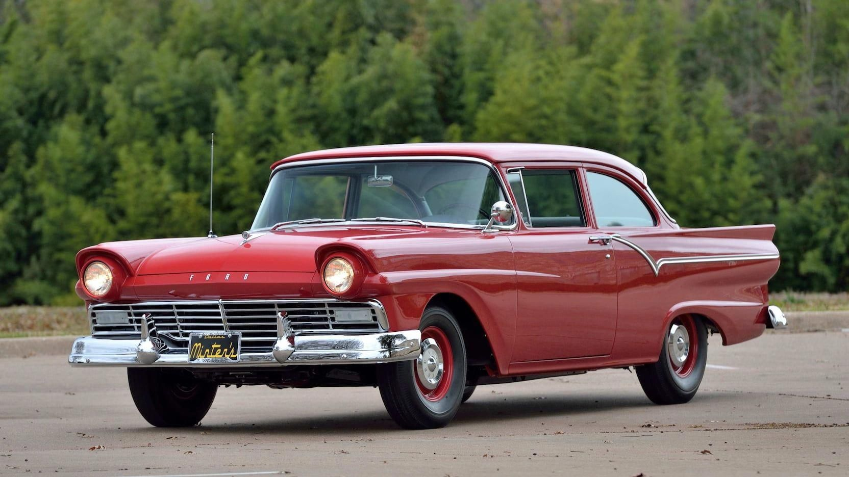 1957 Ford Custom Phase 1 presented as Lot R417 at