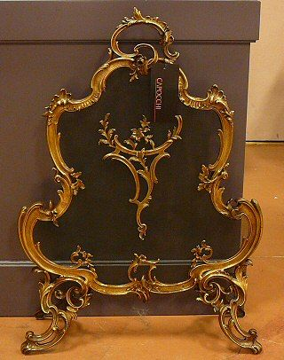 Antique Fire Screen For Your Fireplace Fireplace Screens