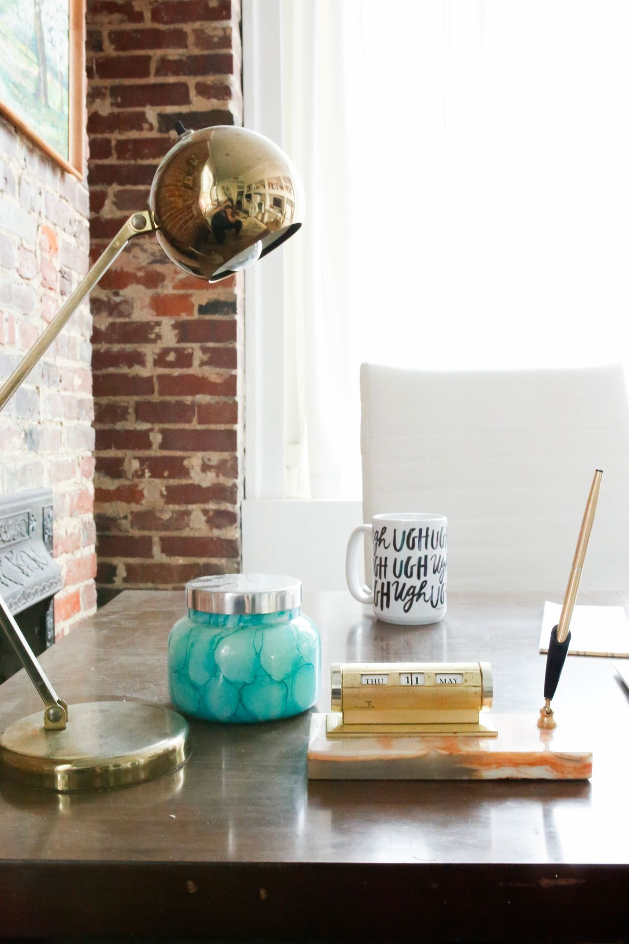 Kristenus Happy Mix in Mississippi House tours Desks and Spaces