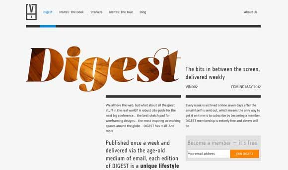 EFFECTIVE TYPOGRAPHY-DRIVEN WEB DESIGN