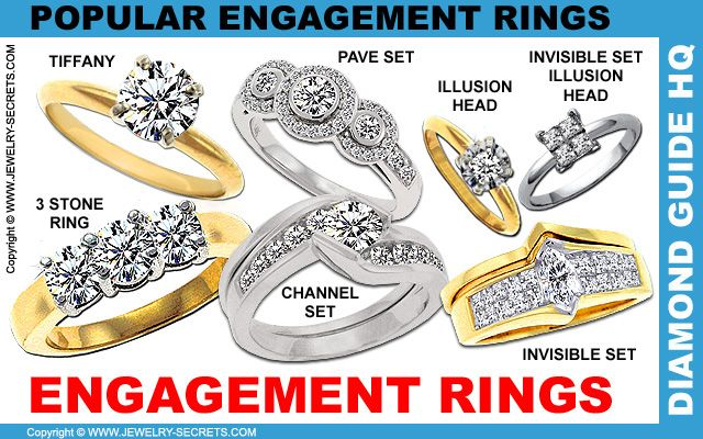Ring See All The Diffe Engagement Styles