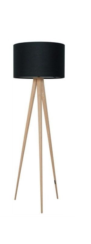 Lampadaire Zuiver Tripod Wood Noir Http Www Inside75 Com Canape