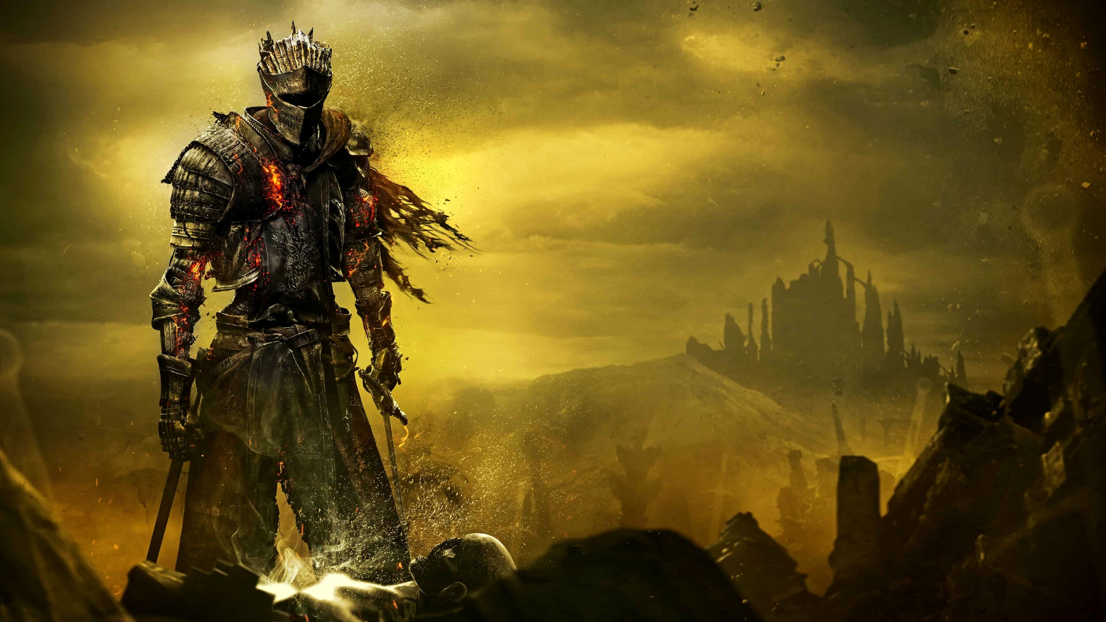Wallpapers 4k De Dark Souls Trick Di 2020 Dark Souls
