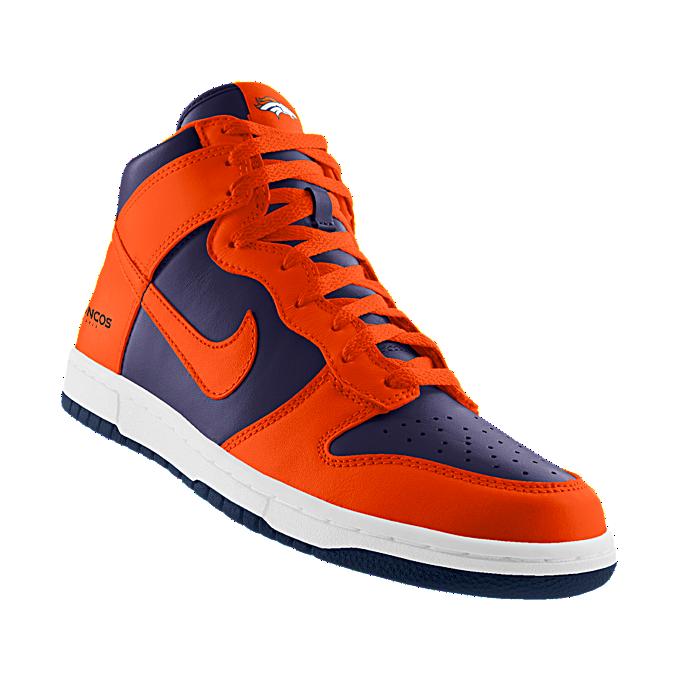 BroncosId ShoeShoes Highnfl NikeidCustom Denver Nike Dunk 5AqS3jc4RL