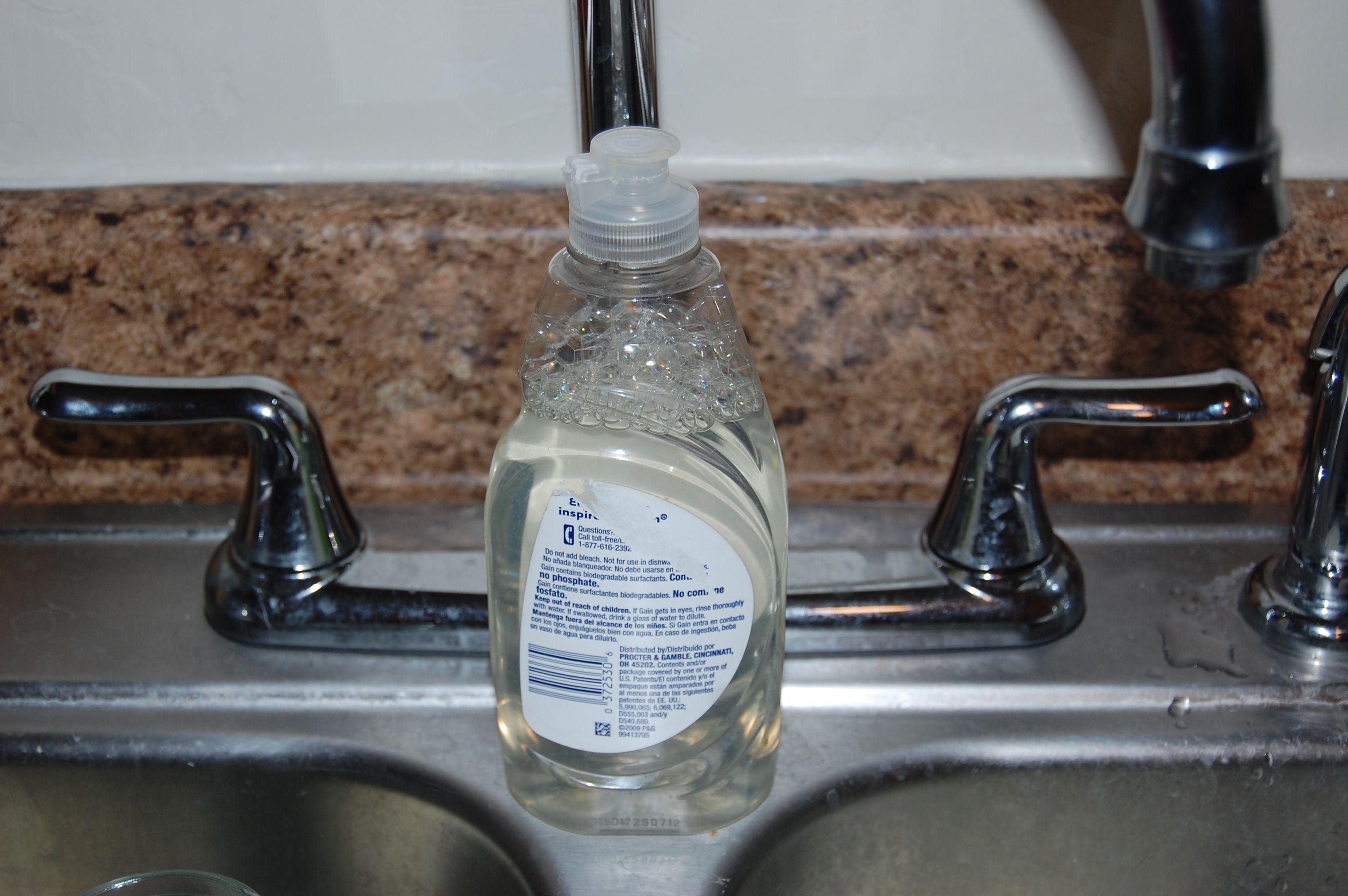 Homemade Dish Soap Sample Homemade dish soap
