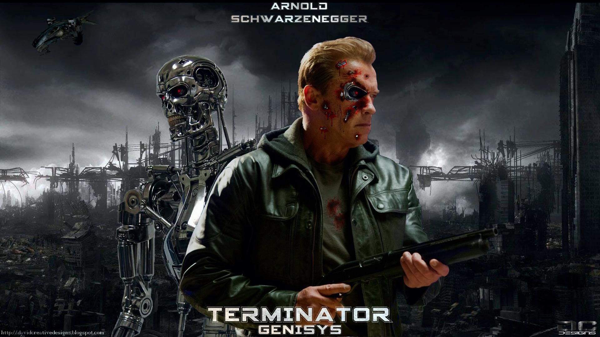 Terminator Genisys HD Wallpapers Backgrounds Wallpaper