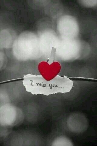 Schatz ich habe Sehnsucht nach Dir