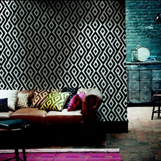 ID Collection Dallas Now Carries The Hot New French Fabric Wallpaper Line