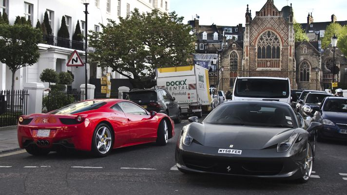 Gallery Meet The Supercars Of London Bbc Top Gear Super Cars