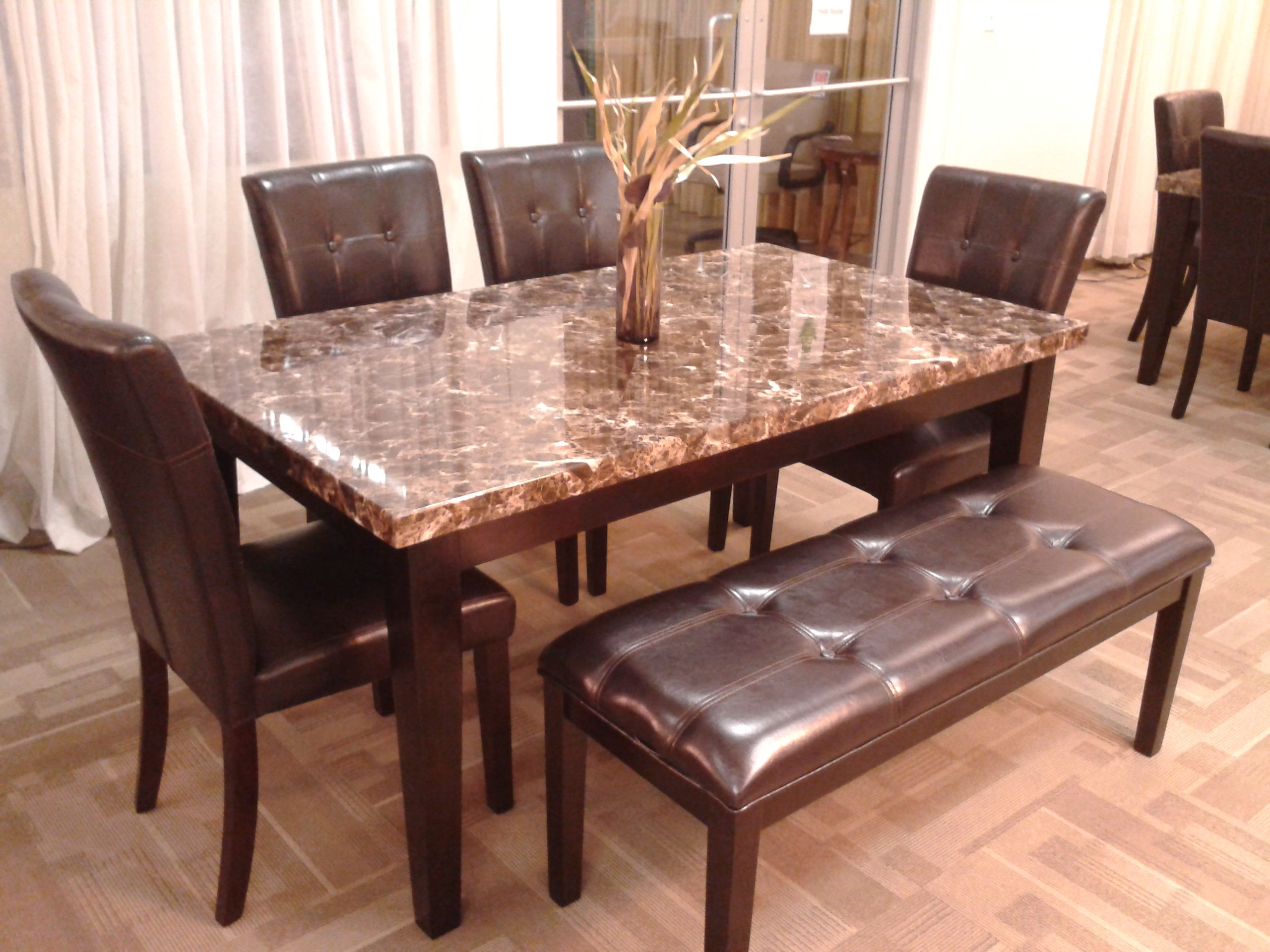 6 peice dining room set ONLY $399