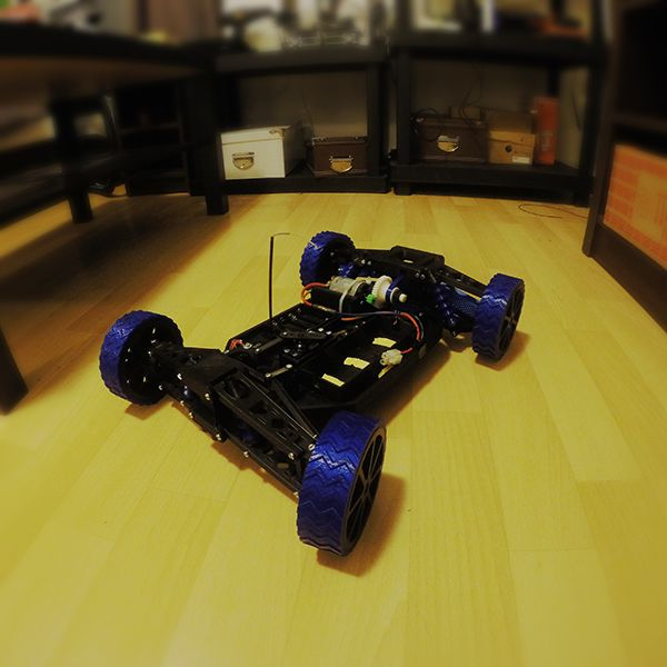 Download 3D printed RC Car by Nicolas Roux