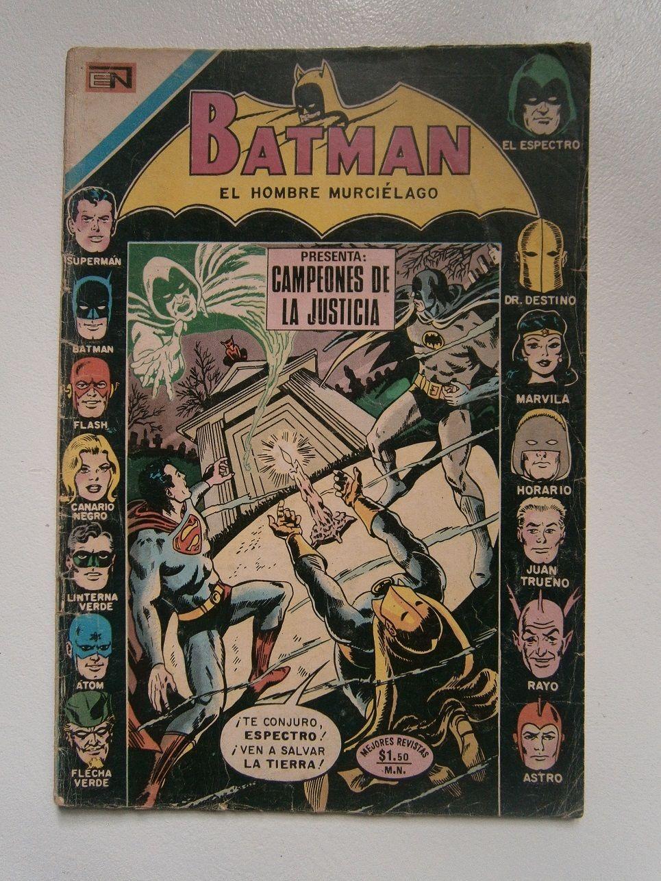 Batman 611 Justice League Of America Original Spanish Mexican