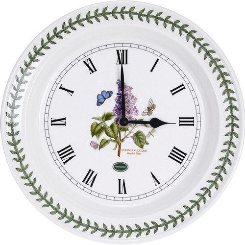 Botanic Garden 10 Wall Clock Kitchen Wall Clocks Wall Clock Clock Wall Decor