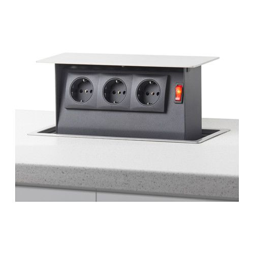 Aufklapp-Steckdosen INTENSITET | Cocina | Steckdosen küche ...