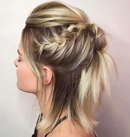 12 schöne hochsteckfrisuren für kurzes haar   frisuren