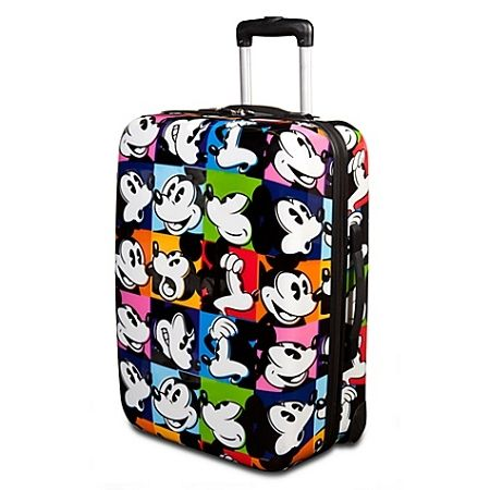 Disney Luggage - Rolling Pop Art Mickey Mouse Suitcase -- 20 ...