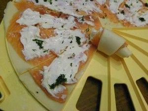 croissants apero au saumon fume thermomix blog cuisine. Black Bedroom Furniture Sets. Home Design Ideas