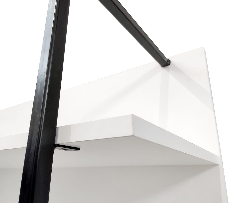 LOFT Bookcase open 120 cm alpine white