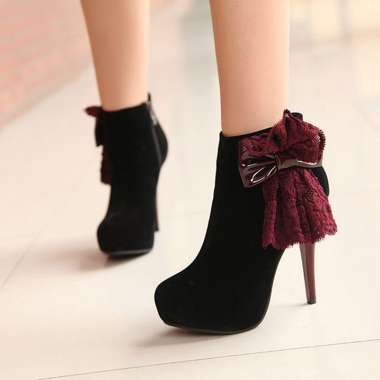 Schwarze boots f1be53e2b