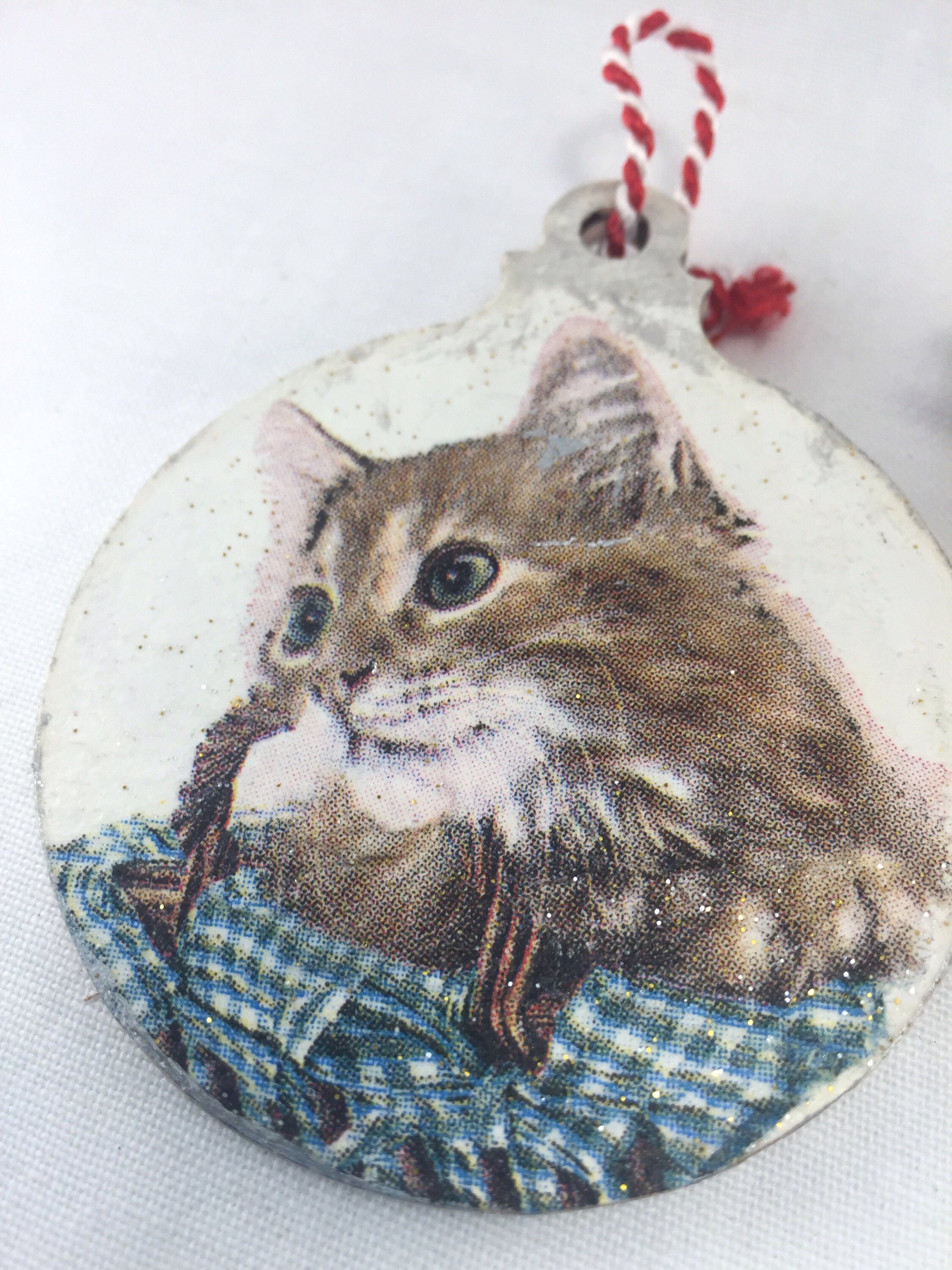 A Cute Little Cat Bauble For Your Christmas Tree Https Www