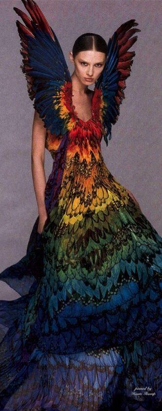 Alexander McQueen, Butterfly Couture