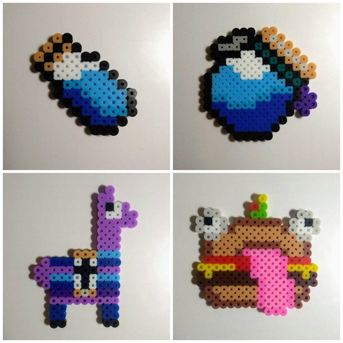 Fortnite Hama Beads Perler Pixel Art Diy Perler Beads