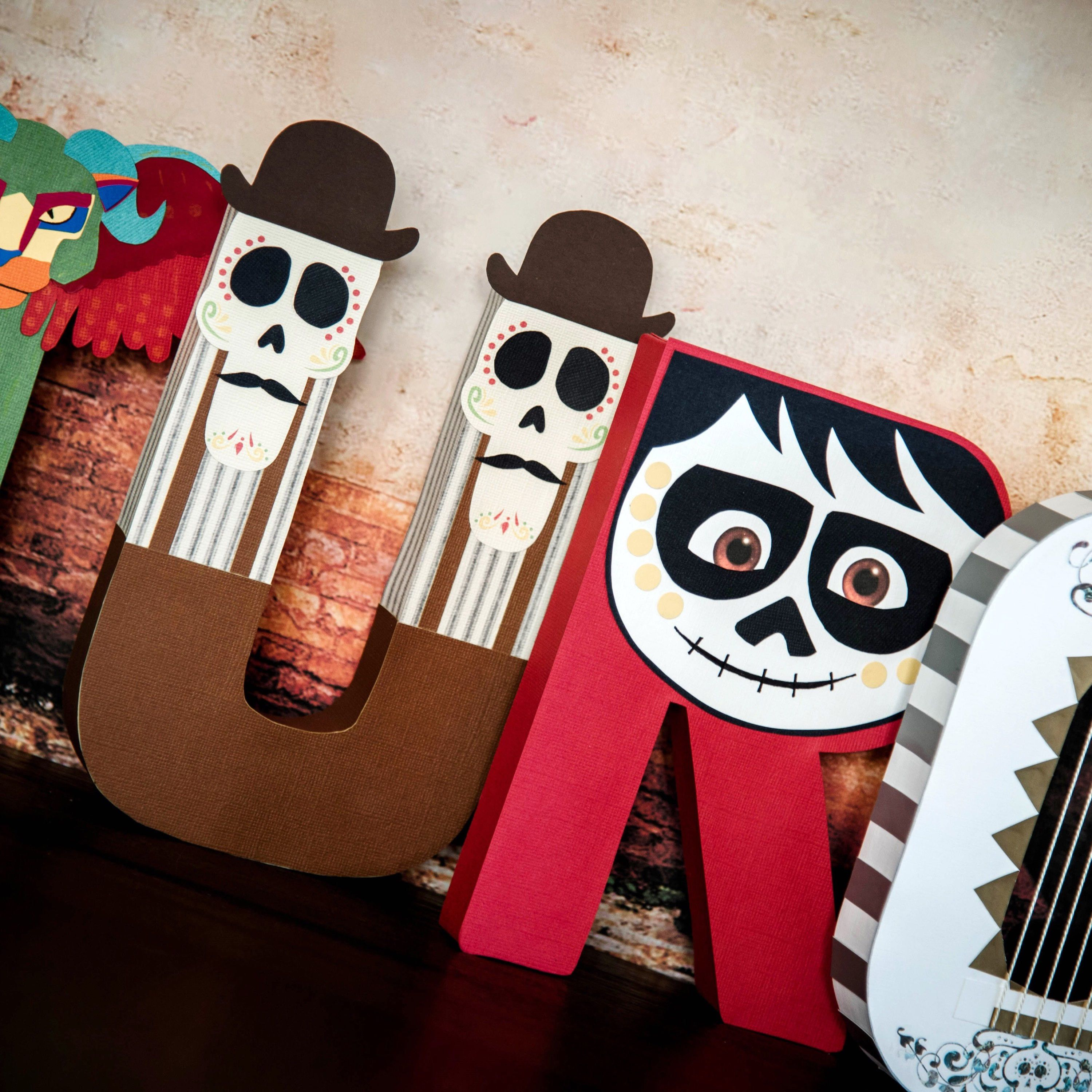 Coco Paper Mache Letters cost is