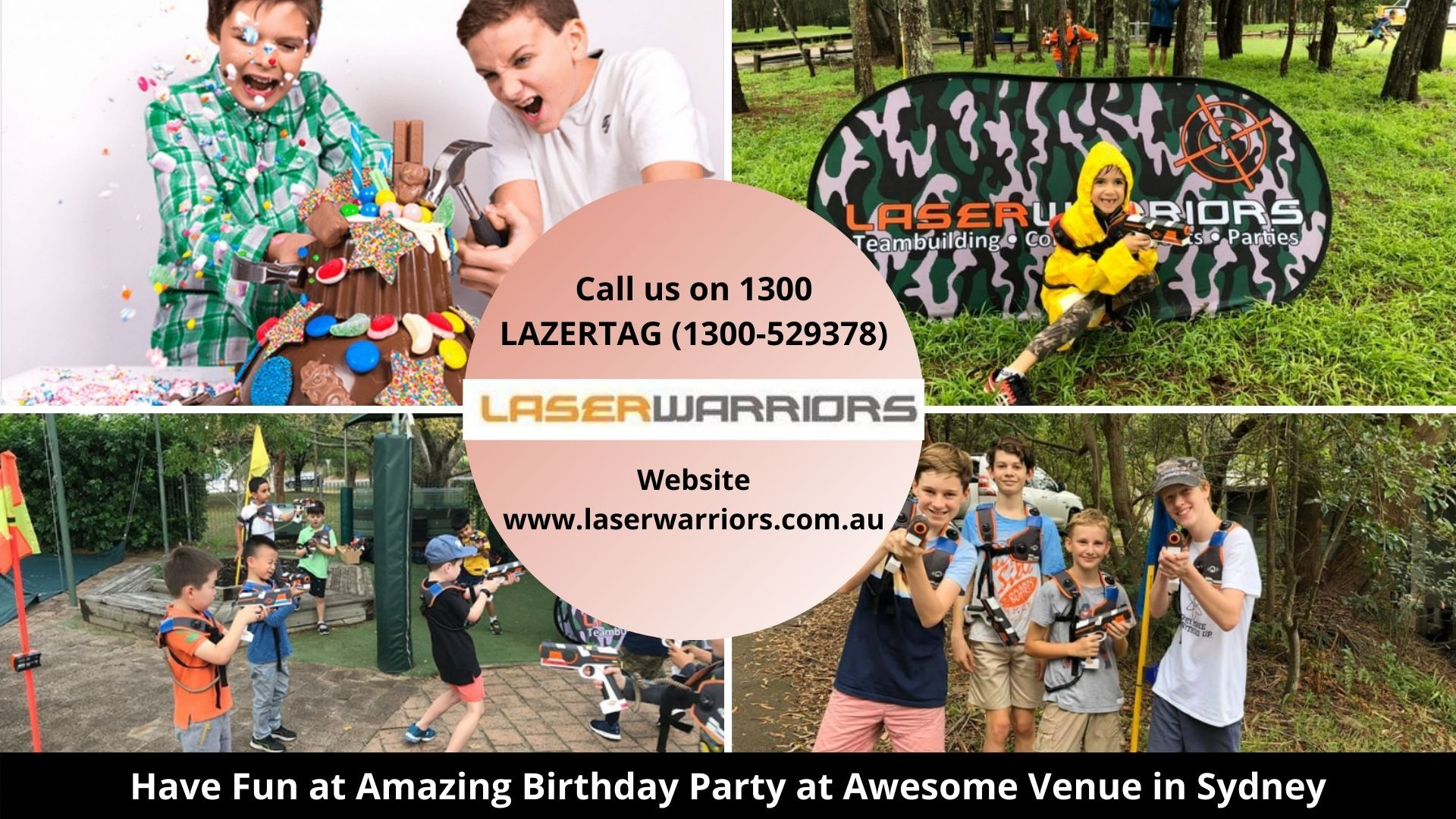 Have fun at amazing birthday party at awesome venue in