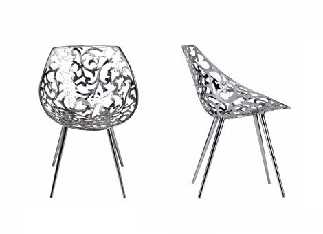 Starck for driade. Stainless steel chair   Jewel up your Home ...