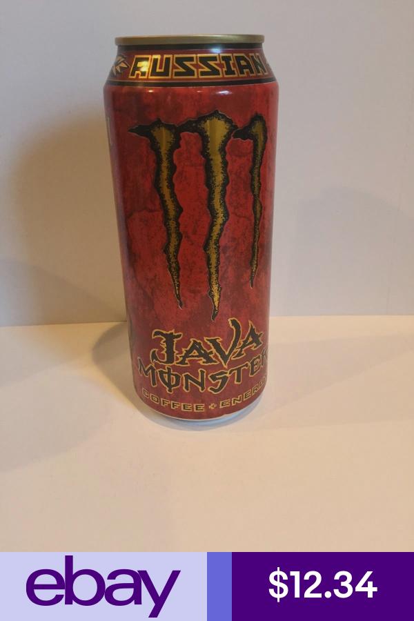 Monster Energy Java Russian 15oz Full Can Monster Energy Energy Drinks Energy