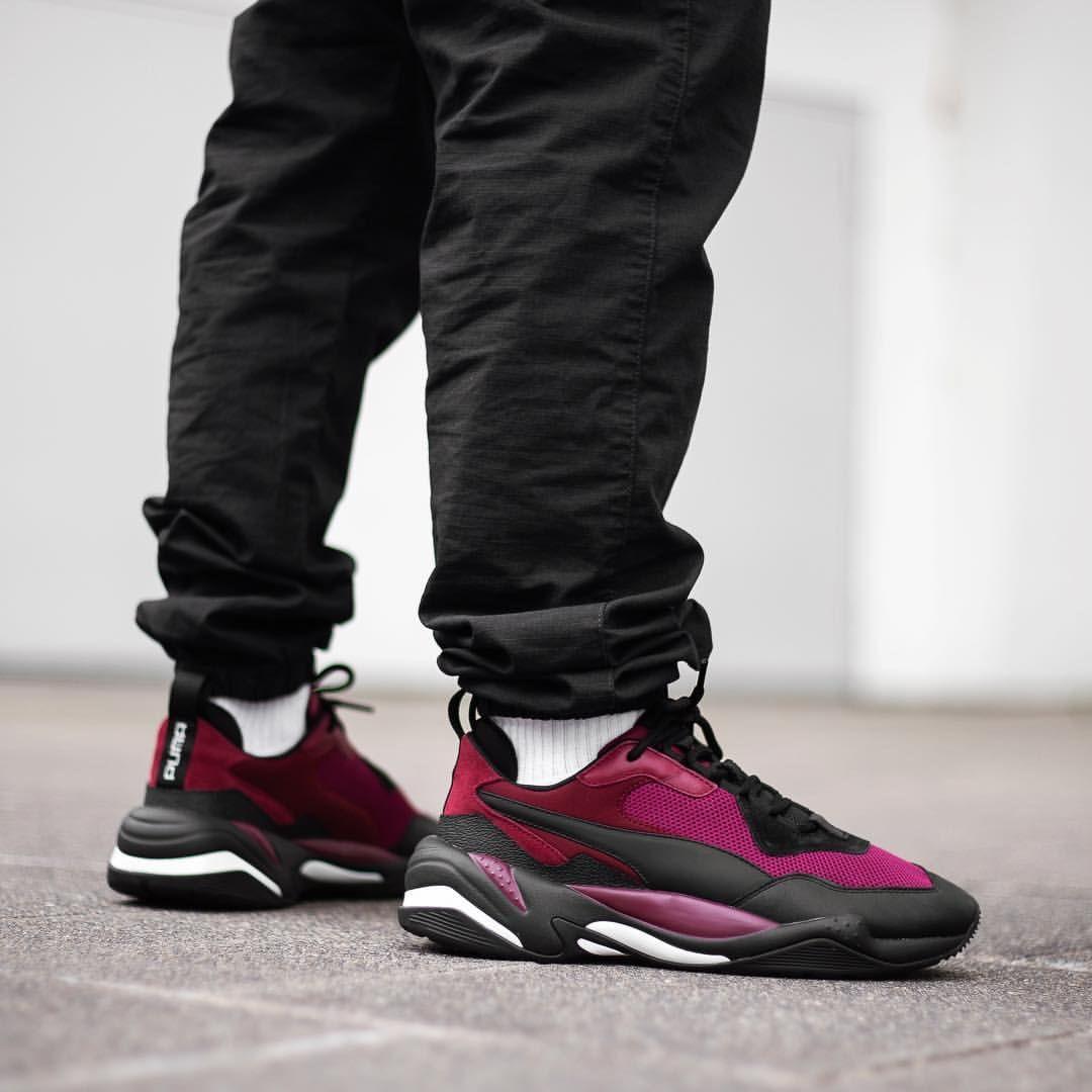 Puma Thunder Spectra  Burgundy   Sneakers в 2019 г.   Sneakers ... c9cafcad646