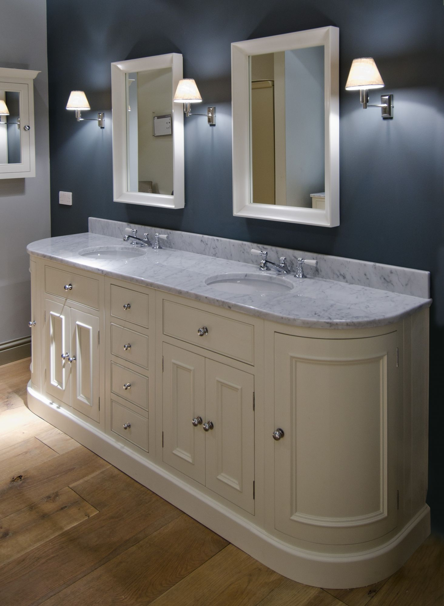 Bon Neptune Twin Sink Unit