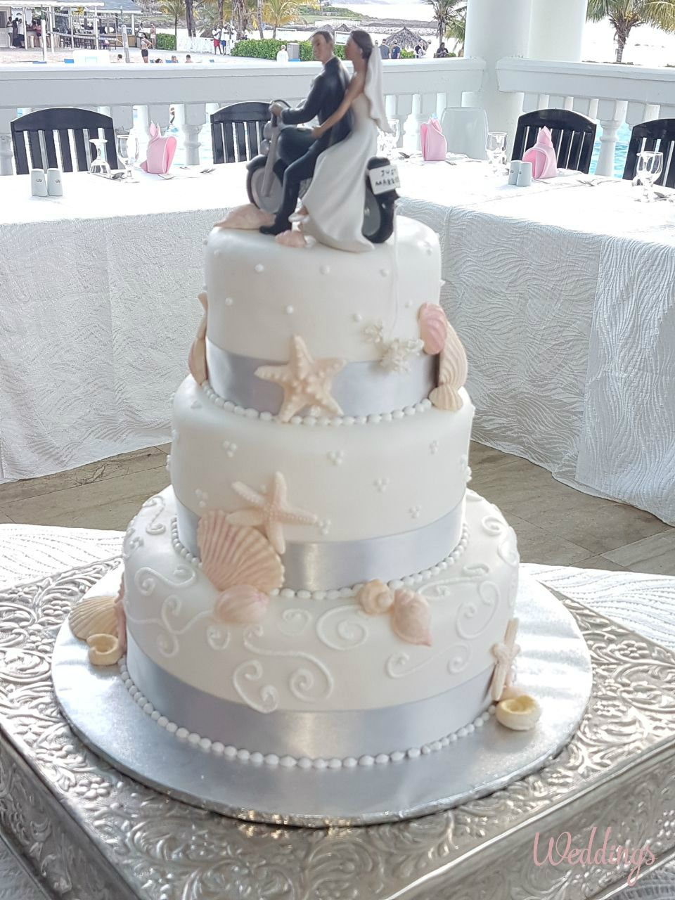 wedding cakes in jamaica simple stunning wedding cake wedding reception in 24662