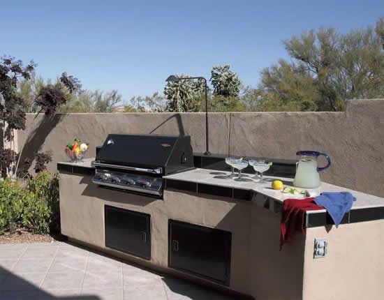 Outdoor Kitchens Tucson Az Sonoran Gardens Inc Outdoor Kitchen Countertops Outdoor Kitchen Countertops