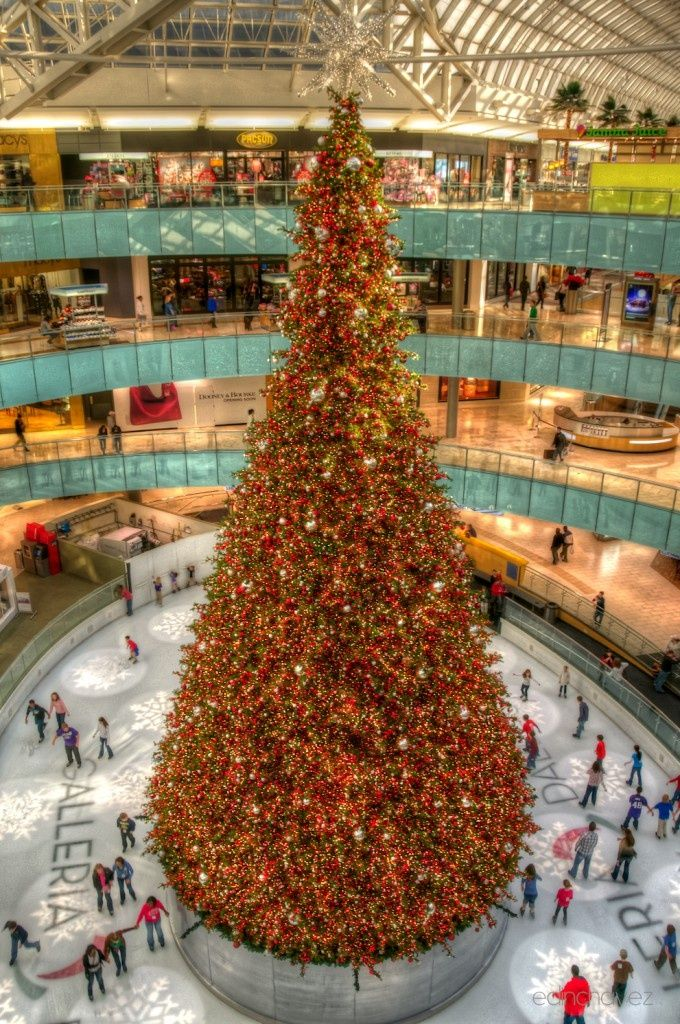 Christmas Tree The Galleria, Dallas TX. | Dallas texas ...