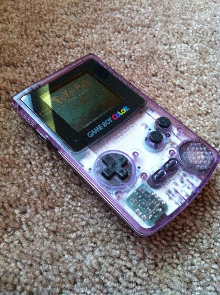 Gameboy color deer hunter gameshark codes - Gameboy Color See Through Purple Still Have It And It Still Works Though