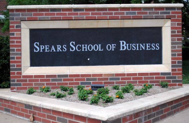 Osu Spears School Of Business Sign Business Signs Osu Granite Sign