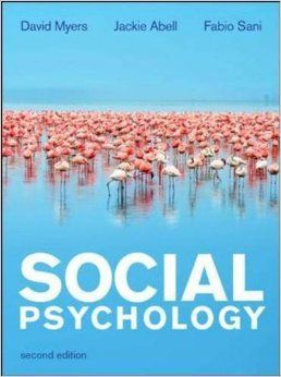 Social psychology is one of the most intriguing and captivating areas of psychology, as it has a profound influence on our everyday lives; from our shopping habits to our interactions at a party. The new edition of Social Psychology has been revised to introduce a more flexible structure for the teaching and studying of social psychology and includes up-to-date, international research in the area. Cote 9-472 MYE