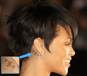 Google Image Result For Http 2 Bp Blogspot Com Cj9ntkyh Hk Tf03rtslv I Aaaaaaaaarc 2ceinxumsig S320 Rhiann Behind Ear Tattoos Pisces Tattoos Rhianna Tattoos