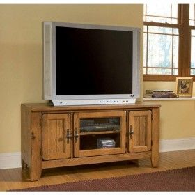 Broyhill Attic Heirlooms Entertainment Console In Natural Oak 602 00 Zoospin2win Handles Hardware